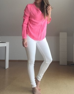 Leichte Sommerbluse in pink