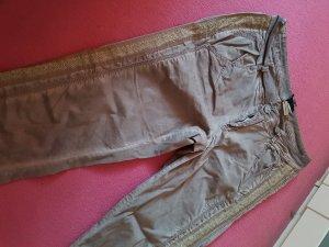 BC Pantalón de cinco bolsillos marrón grisáceo tejido mezclado
