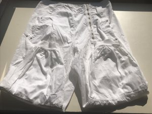 Made in Italy 3/4 Length Trousers white