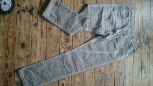 0039 Italy Pantalon en jersey gris brun