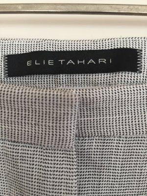 Elie Tahari Pantalone elasticizzato multicolore Lino