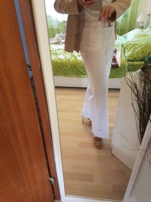 Leichte Sommerhose mit Bundfalte