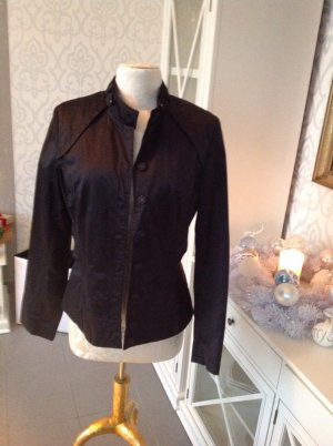 Guess Sports Jacket black-gold-colored