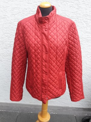 Quilted Jacket carmine