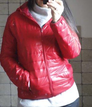Gewatteerd jack rood