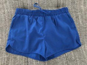 Leichte Stoffhose, Größe S, blau