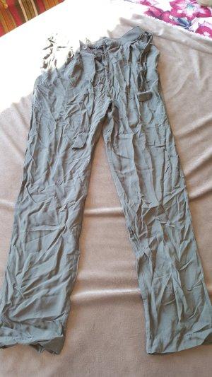Leichte Stoffhose Sommerhose M 38 khaki