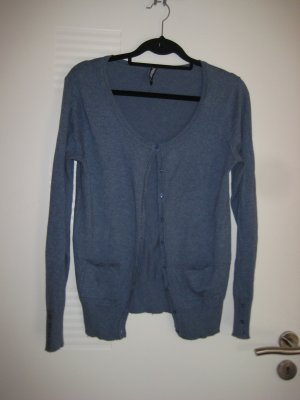 Leichte Strickjacke in blau