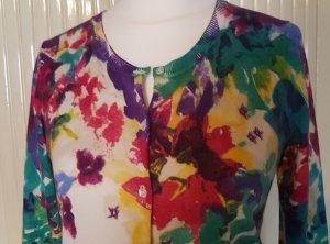 0039 Italy Veste en laine multicolore