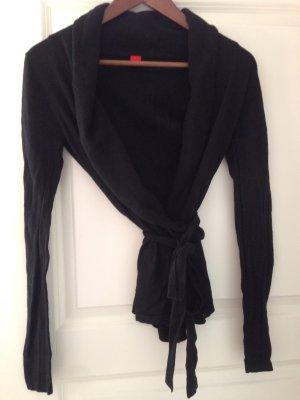 Leichte Strickjacke von Esprit Gr S schwarz