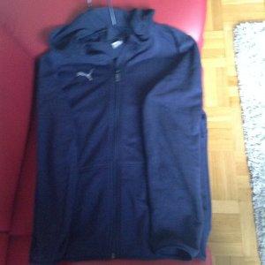 Puma Sweat Jacket dark blue
