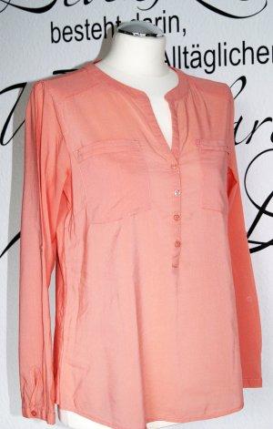Leichte Tunika-Bluse mit langen Ärmeln