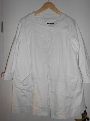 leichte Übergangsjacke in freundlichen weiß