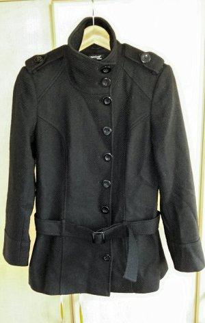 Laura Scott Chaqueta de lana negro