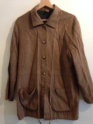 Leichte Vintage Jacke in Wildleder Optik