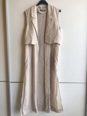 Gina Tricot Fleece Vest cream-oatmeal