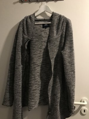 Clockhouse Hooded Vest silver-colored-grey