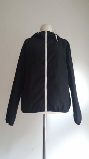 Twintip Veste à capuche noir-blanc polyester