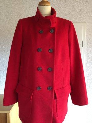Leichte Wolljacke rot Designer Jacke
