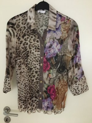 Alba Moda Blouse en crash multicolore