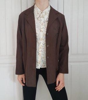 Leichter Blazer Braun True Vintage Oversize cardigan anzug pulli pullover sweater