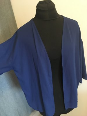 Only Lange blouse blauw-donkerblauw