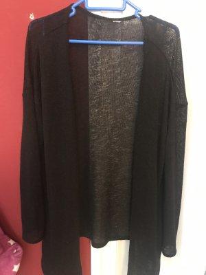 H&M Gebreide blazer zwart