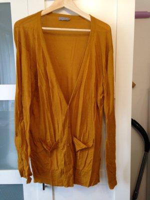 leichter COS Cardigan, ocker-gelb