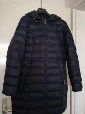 More & More Abrigo de plumón azul oscuro