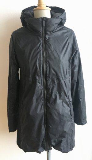 Nike Manteau en duvet noir tissu mixte
