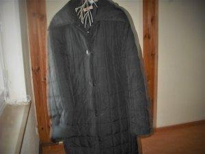 Manteau matelassé noir polyester