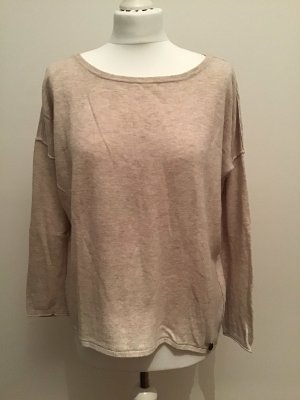 leichter Feinstrick Pullover beige Sand Tom Tailor Denim Gr.M