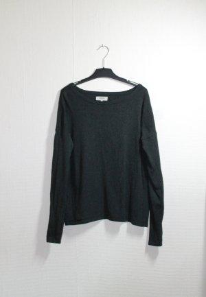 Leichter, grauer Pullover / Pulli von Zalando Gr. XS
