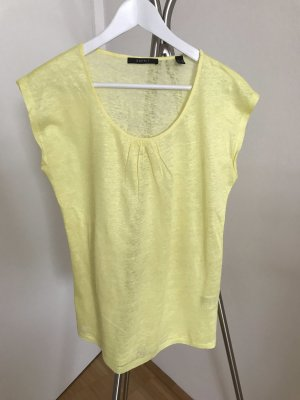 Esprit Short Sleeve Sweater pale yellow