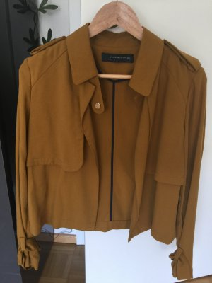 Zara Trenchcoat brun sable lyocell