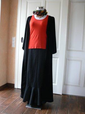 Leichter langer Mantel oder Überkleid  Gr. 46/48 aus Viskose, auch für Gothik-Styles geeignet.
