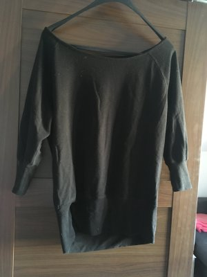 active Lange jumper zwart