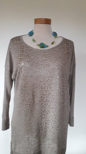 Comma Long Sweater oatmeal mixture fibre