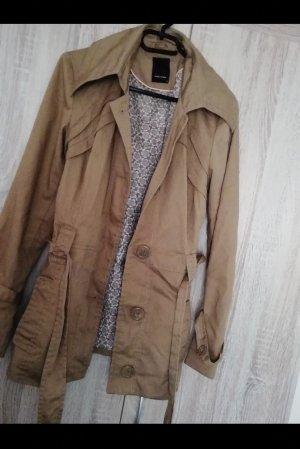 Vero Moda Between-Seasons-Coat light brown