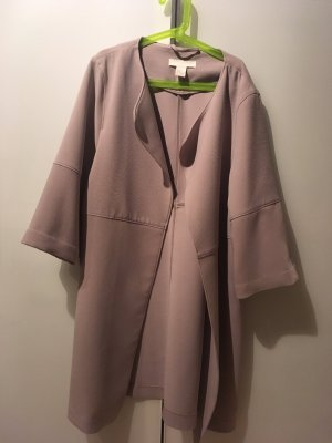 H&M Manteau or rose