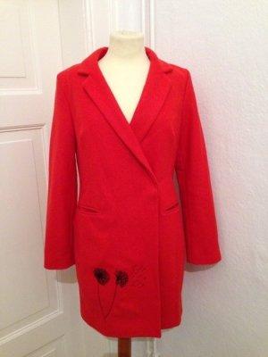 Leichter Mantel Asos rot Poppy 36