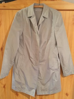 René Lezard Short Coat light grey polyester