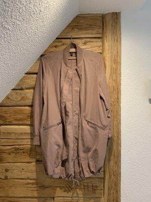 H&M Long Jacket dusky pink