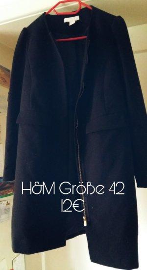 Leichter Mantel schwarz 42