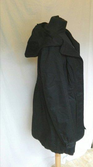 Leichter Mantel Trenchcoat schwarz Übergang