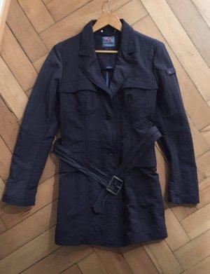 Leichter Mantel von Peuterey dunkelblau, ital 48 , d 42 wie neu!!