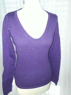 Leichter Pulli in (deep) purple  - ideal für Sommerabende
