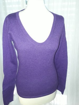 Leichter Pulli in (deep) purple  - ideal für Sommerabende
