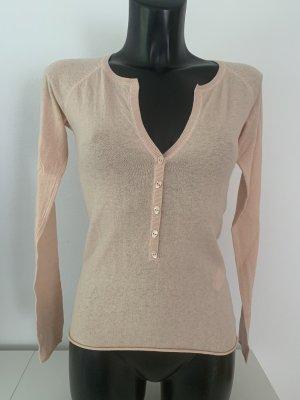 Dear Cashmere V-Neck Sweater nude-pink