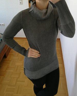 b.p.c. Bonprix Collection Maglione lavorato a maglia grigio chiaro-grigio